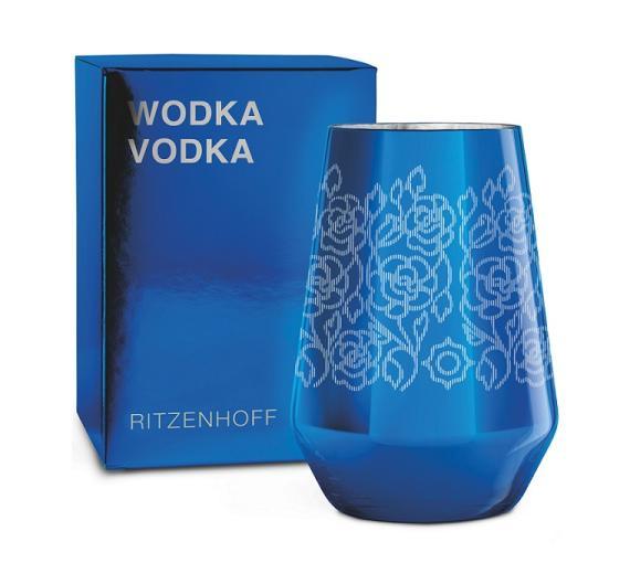 RITZENHOFF - VODKA Vodkaglas Carlo Dal Bianco (Flowers)