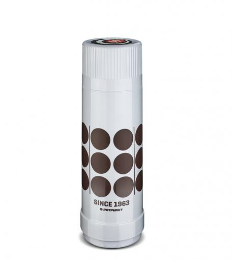 "Isolierflasche 40 MAX ""Retro"" 0,5 l   polar/hot mokka"
