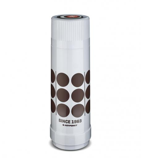 "Isolierflasche 40 MAX ""Retro"" 0,75 l | polar/hot mokka"