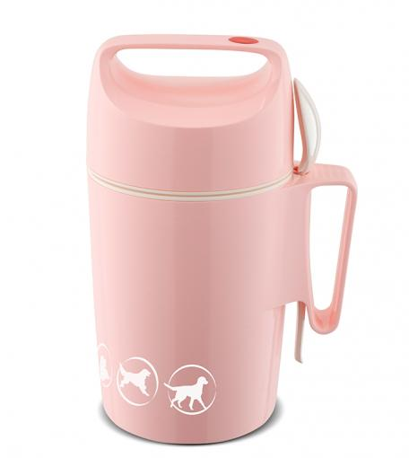 Isolier-Speisegefäß 850 DIRK FCR –Pastell Edition– flamingo