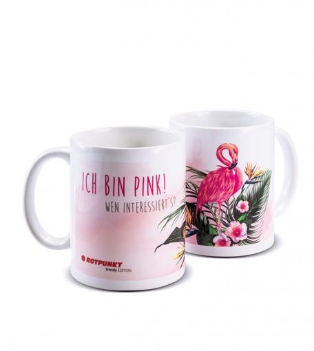 Flamingo-Tassen 1x Keramik / Motiv 1