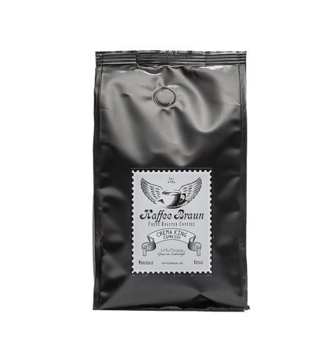 Espresso CREMA KING 500 g ganze Bohnen