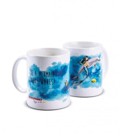 Meerjungfrau-Tassen 1x Keramik / Motiv 1